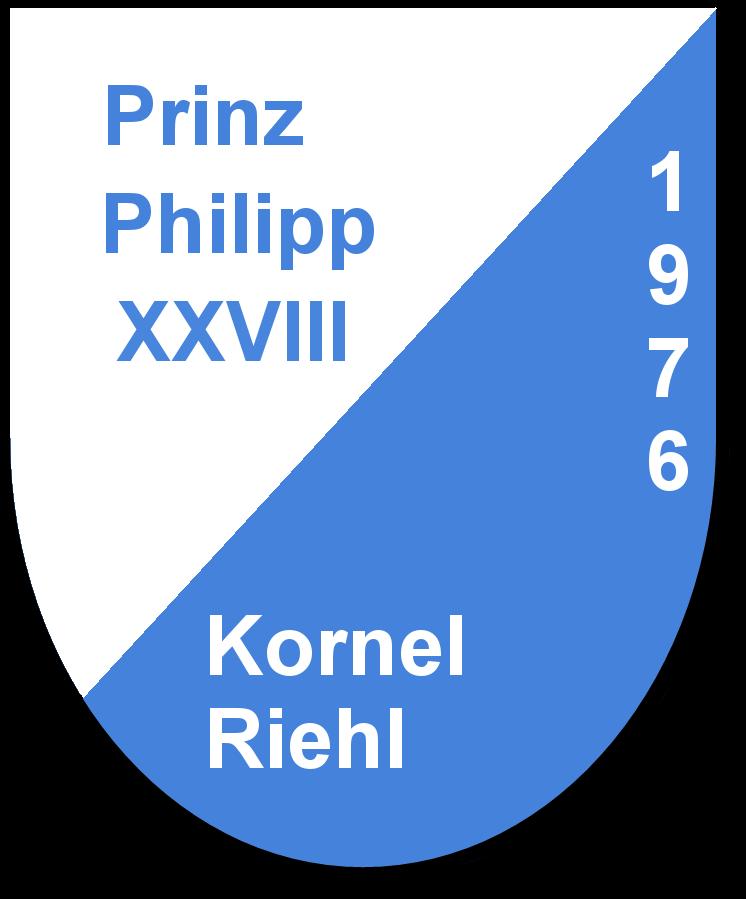 Prinz Philipp XXVIII Kornel Riehl und seine Pagen Frl.Vacaro und Frl.Quatroki