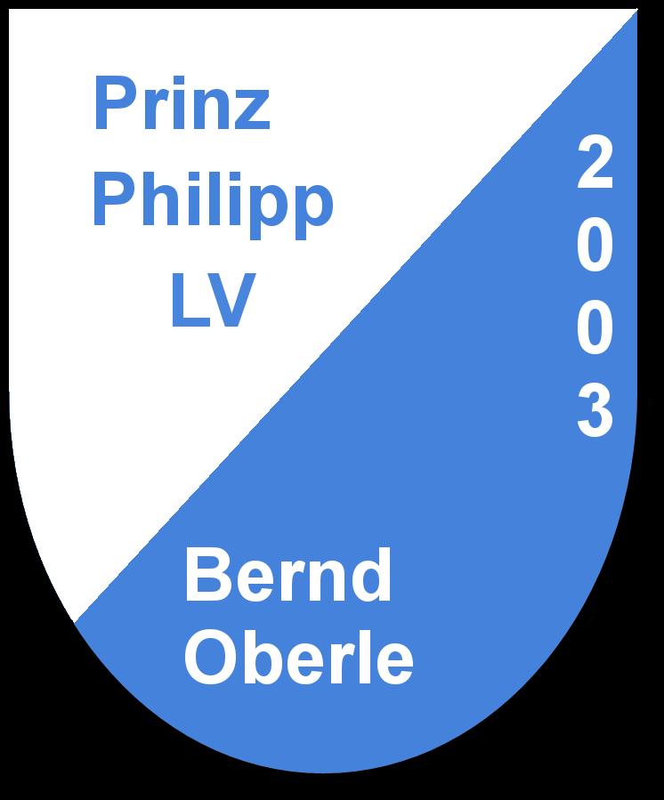 Prinz Philipp LV Bernd Oberle und seine Pagen Sarah Oberle und Vanessa Walter